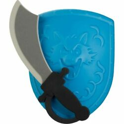 Foam Toy Sword and Blue or Green Shield