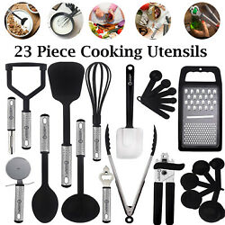Kyпить Stainless Steel Kitchen Utensils Set Non-Stick & Heat Resistant Cooking Utensils на еВаy.соm