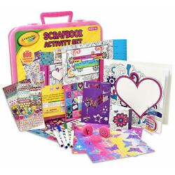Kyпить Crayola Art Activity Set, Mess Free Craft Kit for Kids, Washable Markers на еВаy.соm