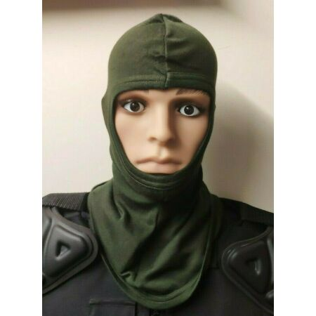 img-NEW Kermel Fire Retardant Balaclava Green Motorcycle Biker Army Military