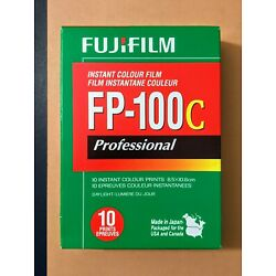 Kyпить Fuji FP-100c Instant Color Film pack - One Pack - Exp 09/2012 - COLD STORED на еВаy.соm