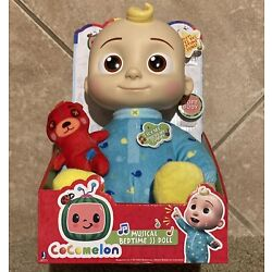 Kyпить Cocomelon JJ Doll Plush Musical Bedtime 10