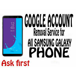 Kyпить Google account FRP remove service for Samsung Phone ( Contact me Before Buy ) на еВаy.соm