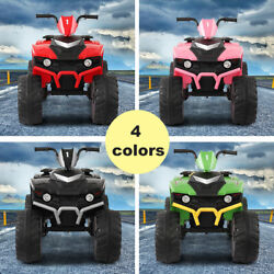 Kyпить 12V Kids Ride On 4-Wheeler Car Electric Battery Powered Toy ATV Car w/ Pedal на еВаy.соm