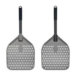 Kyпить Perforated Pizza Peel, 12 x 14 Inch Pizza Turning Peel, Anodized Aluminum Paddle на еВаy.соm