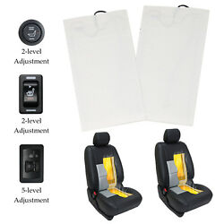 Kyпить Carbon Fiber Universal Car Heated Seat Heater Kit, 2-dial 5-level Switch на еВаy.соm