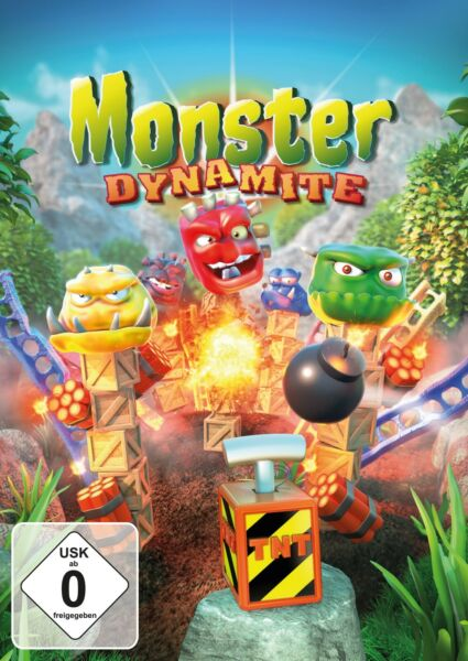 AllemagneMonster Dynamite - PC - Physikspiel - Actionspiel - ESD -  Version