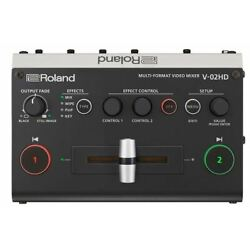 Kyпить Roland V-02HD Multi-Format Video Mixer Factory Refurbished FREE SHIPPING на еВаy.соm