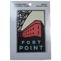Fort Point Decal - San Francisco, Golden Gate Parks Conservancy, California