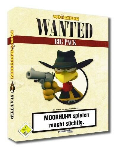 AllemagneMoorhuhn Wanted - Kultspiel - Shooter -  Version -ESD