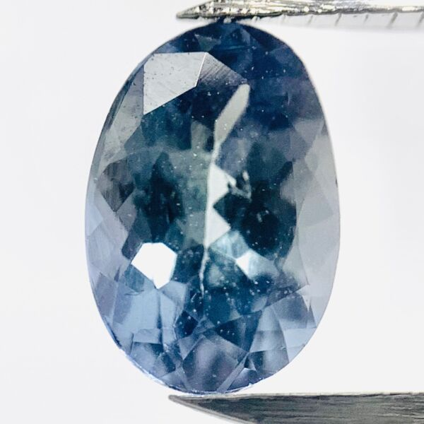 AllemagneGenuine Bleu Tansanite Ovale 0.72ct 7x4.7mm