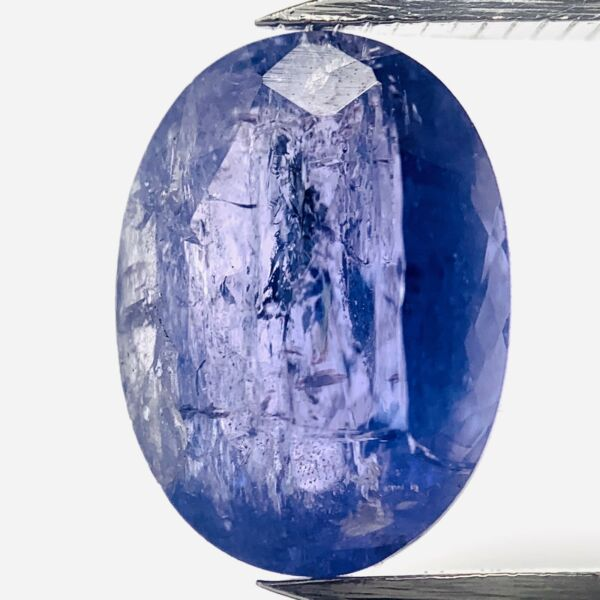 AllemagneGenuine Bleu Tansanite Ovale 2.52ct 9.6x7.1mm