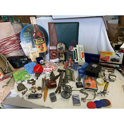 Kyпить MEN'S JUNK DRAWER LOT VINTAGE TO MODERN BAR JEWLERY ADVERTISING CAMERA CLIPPERS на еВаy.соm