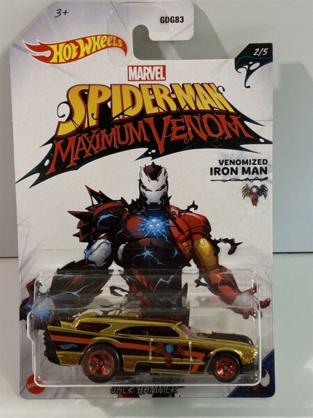 Royaume-UniSpiderman Maximum Venon Hot Wheels Jack Marteau GJV25 1:64 Echelle