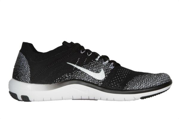 Royaume-UniFemmes Nike  Focus Flyknit 2 Noir Course Baskets 880630 001
