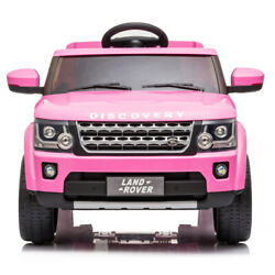 Kyпить Kids Ride On Truck -12V Battery Powered- Electric Car Range Rover LED Light Pink на еВаy.соm