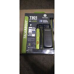 Kyпить Motorola TalkAbout GO LOCATE T801 Two-Way Radios - Black/Green  на еВаy.соm