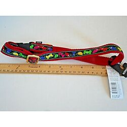 HOLIDAY CHRISTMAS Dog Collar-New w/Tags-Premier 17-28 Inches- Quick Snap