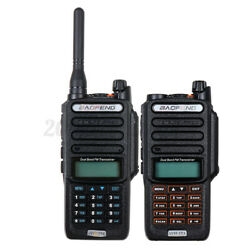 Kyпить 18W Baofeng UV-9R Plus Walkie Talkie VHF UHF Dual Band Handheld Two Way Radio US на еВаy.соm