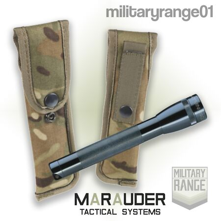 img-Marauder MTP Mini-Maglite Torch Pouch - MOLLE - British Army Military - UK Made