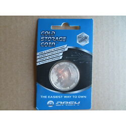 Kyпить Cold Storage Coin - Store Your Dash crypto on this 1oz silver coin wallet NEW на еВаy.соm