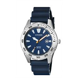 Kyпить Citizen Men's Quartz Blue Polyurethane Band Date Indicator 42mm Watch BI1041-22L на еВаy.соm