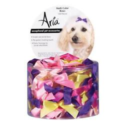 Aria DT161 99 Aria 3/8 In Multi-Color Bow Canister 100/Pcs