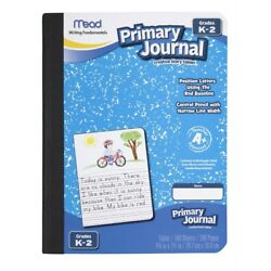 1 COUNT Mead Primary Journal 100 Sheets/200 Pages Book Creative Story Tablet K-2