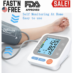 Kyпить Automatic High Blood Pressure Monitor BP Cuff Gauge Heart Rate Machine US Stock на еВаy.соm