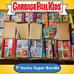 Kyпить ????Garbage Pail Kids 1985 Original Series 1 Super Mystery Bundle Lot GPK 1st OS1 на еВаy.соm