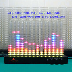 Kyпить Creative DIY 14 Bands Spectrum Analyzer Music Column Light LED Indicateor Party на еВаy.соm