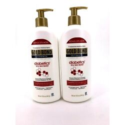 Gold Bond Ultimate Hydrating Lotion Diabetics' Dry Skin Relief 15 oz Ea Lot of 2