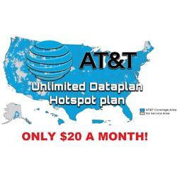 Kyпить AT&T UNLIMITED 4G LTE DATA ACCOUNT | ATT $20 / month YOU OWN IT! на еВаy.соm
