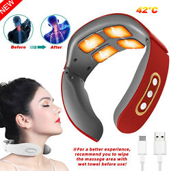 Kyпить Electric Cervical Neck&Shoulder Pulse Massager Heating Pain Relief Muscle Relax на еВаy.соm