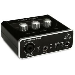 Kyпить Behringer U-Phoria UM2 USB Audio Interface на еВаy.соm