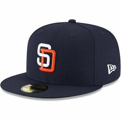 Kyпить San Diego Padres MLB New Era Authentic 1991 Cooperstown 59FIFTY Fitted Hat-Blue на еВаy.соm