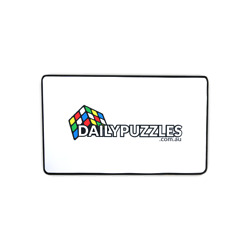 Kyпить DailyPuzzles Speed Cube Mat - Black or White на еВаy.соm
