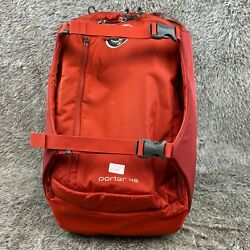 Kyпить Osprey Porter 46 Backpack and Luggage Bag Red  на еВаy.соm