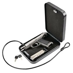 Personal Portable Gun Security Safe, 64 Cubic in. Factory Sealed TSA airline