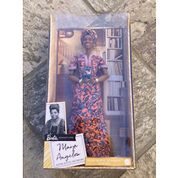 Kyпить Maya Angelou Barbie Signature Inspiring Women Series Collector Doll 12in IN HAND на еВаy.соm