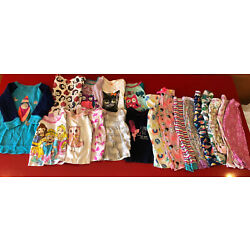 Kyпить Lot Of 3T Girl Pajamas Shirts And Pants 19 Pieces Pjs Tops And Bottoms Disney на еВаy.соm