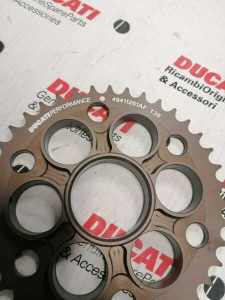 ItalienSprocket Ducati Performance Pitch 520 Z 39 IN ergal For 848/1098 49411261A