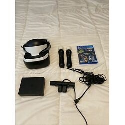 Kyпить PSVR PlayStation 4 VR with Move Controllers - CUH-ZVR2 Bundle на еВаy.соm
