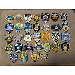 Kyпить Nevada Police Patch Lot Of 32 Patches From Nevada на еВаy.соm