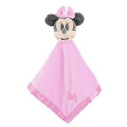 Kyпить Disney Baby Minnie Mouse Blankee Security Blanket Lovey Snuggie 15