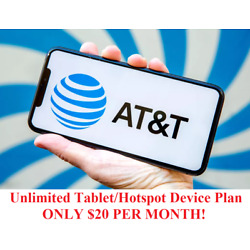 Kyпить Unlimited Hotspot 4G LTE Data AT&T - $20 Per Month - You own it! на еВаy.соm