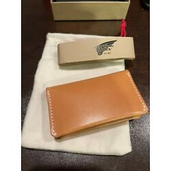 Kyпить New Red Wing Card Holder Wallet # 95023 Vegetable Tan Leather Made In USA на еВаy.соm