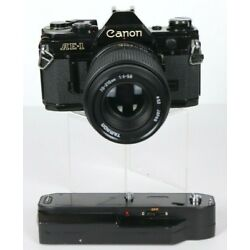 Kyпить Canon AE-1 35mm Film SLR Camera With 70-210mm Tamron Lens And Auto Winder TESTED на еВаy.соm