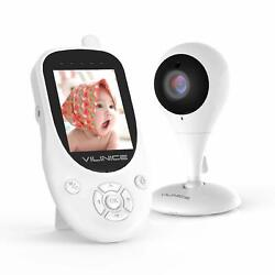 Kyпить Wireless Video Baby Monitor Camera 2-Way Talk Zoom 2.4