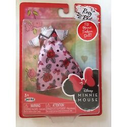 NIP Jakks Pacific Disney Minnie Mouse Fashion Doll Outfits for 9'' Doll Rosy Red